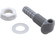 Waterway Jet Nozzle with Wall Fitting Gray 670-2007