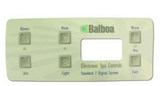 Balboa Control Panel Overlay 6 Button 10868 for 54144