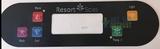 11-0160-08 Resort Spa Control Panel Overlay