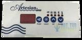 Artesian Spa Control Panel Overlay 11-0122-82 4 Button