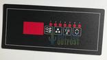 Hydroquip Baja Control Panel Overlay 85-8609