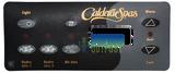 Caldera Control Panel Overlay Watkins 72215 7 Button