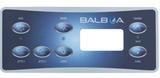 Balboa Hydroquip 7 Button HT-701S Overlay 80-11159