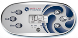 American Whirlpool 6 Button Overlay 110372 with Blower