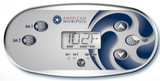 American Whirlpool 5 Button Overlay 110371 2-Pumps