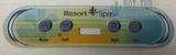 Artesian Resort Overlay OP11-0135-77 4-Button