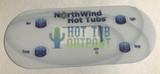 Northwind 4 Button Control Panel Overlay 12216 Coast
