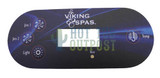 Viking Spa 4 Button Overlay 91082 2 Pumps