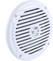white jensen speaker hot tub