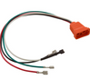 Hydroquip Molded Receptacle 09-0026C Fiber Optic 8-4 Orange Air VH
