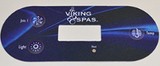 Viking Spa 3 Button Overlay 91081