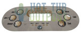 California Cooperage Control Panel Overlay 109045 6 Buttons