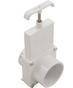 3 piece service valve