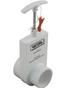 Valterra 2x2 Inch Slip x Spg Uni-Body PVC Slide Valve 2202X
