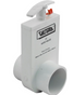 Valterra 2x2 Inch Spigot Uni-Body PVC Slide Valve 2203X