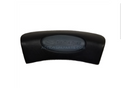 Catalina Spa Pillow 559 Suction Cups Black 12 Inch