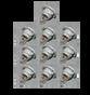10-pack of Coleman Maax Control Panel Light Bulbs 100971