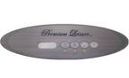 Premium Leisure 4 Button Control Panel Overlay MVP260 7510