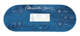 Clearwater Spa TP600 Overlay 12891