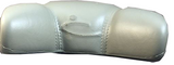 Dynasty Spa Pillow 14527 Neck Gray Stitched 1870