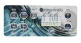 Strong Spa 7 Button Overlay 12943