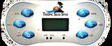 6 button control panel