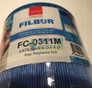 Filbur FC-0311M Microban Artesian Spas Filter 6CH-502RA PAS50SV-F2M-M