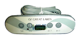 Great Lakes ML400 control panel