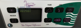 Emerald Spa Cygnus Control Panel 8 Button DS-4 Panel Overlay DS4 91030400