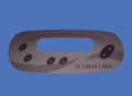 Great Lakes IN.K450 5 Button Overlay GL 51001410
