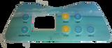 Artesian Island Spa Control Panel Overlay 7 Button 11-0035-77