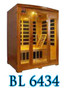 BL 6434 3 person infrared sauna.