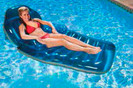 85687 floating pool lounger that reclines.
