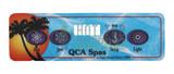 Jewel 4 Button Topside Control Panel 52424 QCA Spas