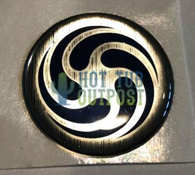 American Whirlpool Pillow Badge 110358 Swirl