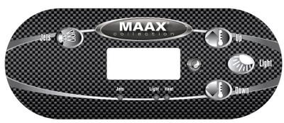 Maax 4 Button Overlay 110336