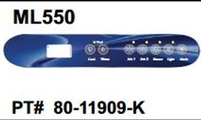 ML550 Overlay 80-11909-K EL GL