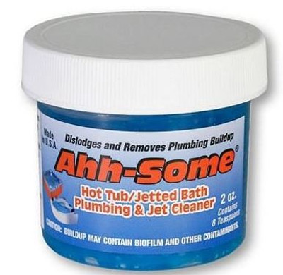 Ahh Some Hot Tub and Jetted Bath Plumbing Jet Cleaner Biofilm