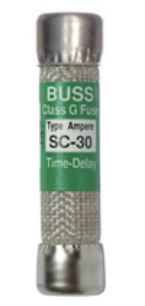 slo blo Spa pack FUSE SC-25 Bussman class G Time-Delay 25A 300V