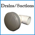 dynasty spa drains and suctions