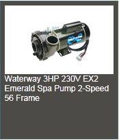 emerald spa pump 3hp