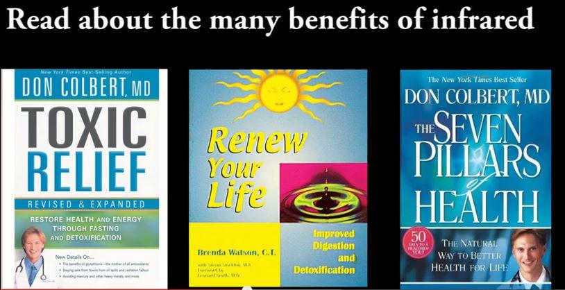 Infrared Sauna Books Reviews