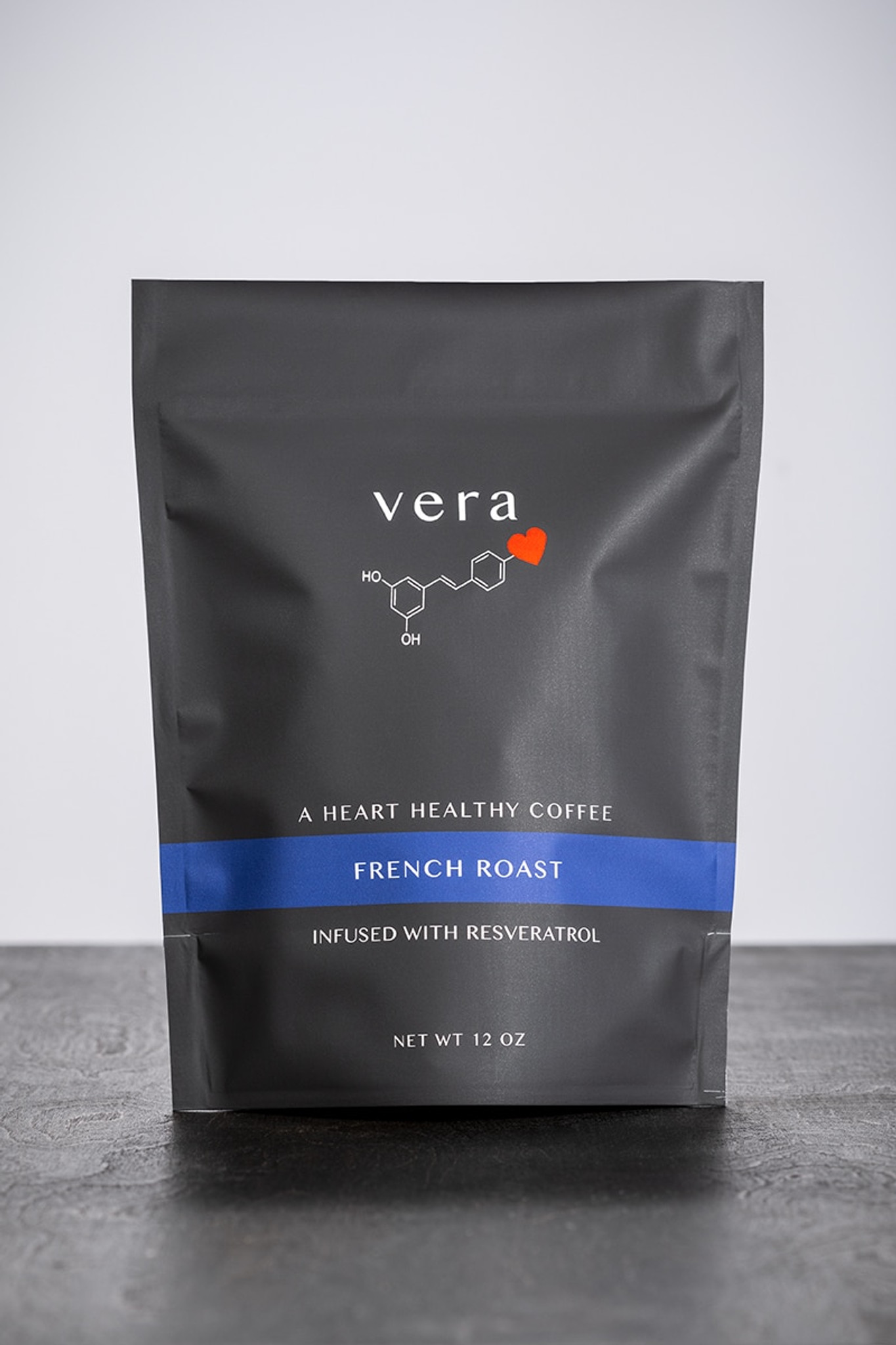Resveratrol-infused French Roast Coffee is smooth, delicious and good for you