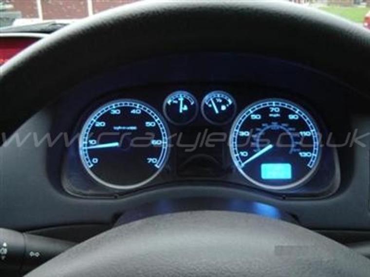 Peugeot 307 SMD LED Speedometer kit.