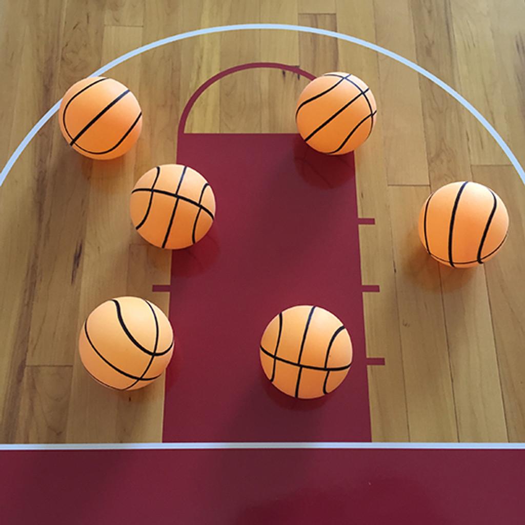 Basketball Ping Pong Ball - 1 Star