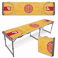 Custom Tailgate / Beer Pong Table - Basketball Court