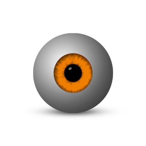 Eyeball - Orange (1-Star)