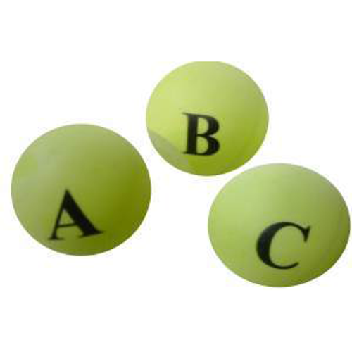 Alphabetical Ping Pong Balls