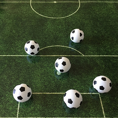Soccer Ping Pong Ball - 1 Star