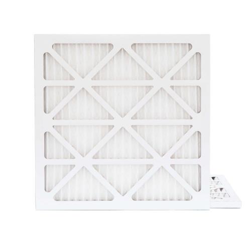 25x25x1 MERV 8 Pleated AC Furnace Air Filters.   2 Pack
